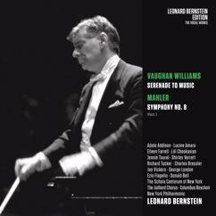 Leonard Bernstein: Williams: Serenade to Music - Mahler: Symphony No. 8