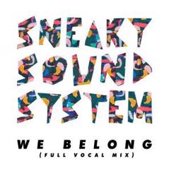 Sneaky Sound System: We Belong