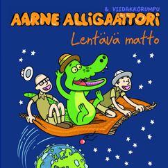 Aarne Alligaattori & Viidakkorumpu: Lentävä matto