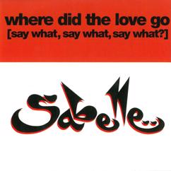 Sabelle: Where Did the Love Go (Say What, Say What, Say What)?