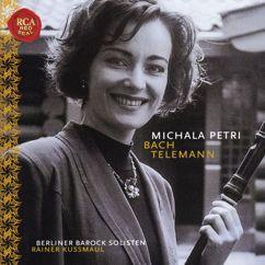 Michala Petri: Michala Petri Plays Bach & Telemann