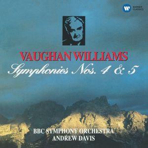 Andrew Davis: Vaughan Williams: Symphonies Nos 4 & 5