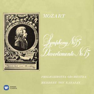 "Herbert von Karajan: Mozart: Symphony No. 35 ""Haffner"" & Divertimento No. 15"