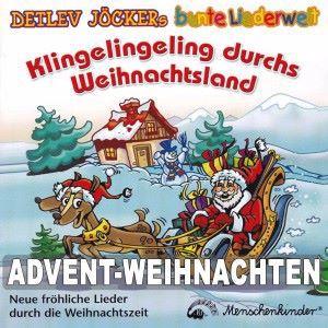 Detlev Jöcker: Klingelingeling durchs Weihnachtsland