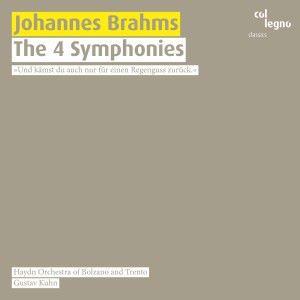 Haydn Orchestra of Bolzano and Trento & Gustav Kuhn: Johannes Brahms: The 4 Symphonies