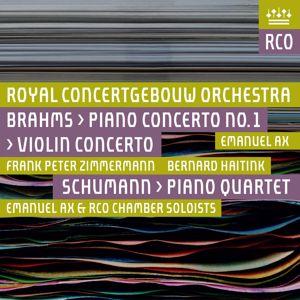 Royal Concertgebouw Orchestra: Brahms: Violin Concerto & Piano Concerto No. 2 - Schumann: Piano Quartet (Live)