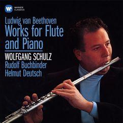 Wolfgang Schulz, Helmut Deutsch: Beethoven / Arr. Kleinheinz: Serenade for Flute and Piano in D Major, Op. 41: VI. Adagio (Arr. of Serenade, Op. 25)