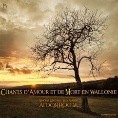 Vincent Grégoire, Elly Aerden & Amorroma: Chants d'amour et de mort en Wallonie