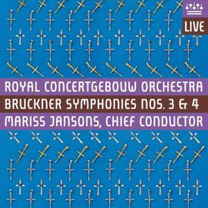 "Royal Concertgebouw Orchestra: Bruckner: Symphonies Nos 3 & 4, ""Romantic"" (Live)"