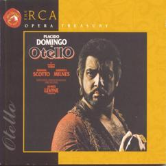 Plácido Domingo;Sherrill Milnes;James Levine: Act II: Desdemona rea!