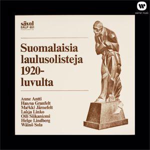 Various Artists: Suomalaisia laulusolisteja 1920-luvulta