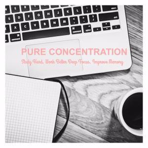 Various Artists: Pure Concentration: Study Hard, Work Better Deep Focus, Improve Memory