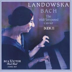 Wanda Landowska: Fugue XXII in B-Flat Minor