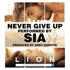 Sia, Greg Kurstin: Never Give Up