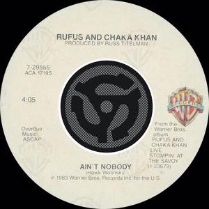 Chaka Khan: Ain't Nobody / Sweet Thing (Live)