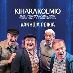 Kiharakolmio feat.Taneli Mäkelä, Esko Roine, Puntti Valtonen ja Tume Uusitalo: Kauhea kankkunen
