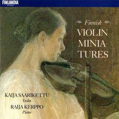 Kaija Saarikettu and Raija Kerppo: Finnish Violin Miniatures
