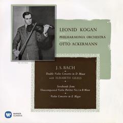 Leonid Kogan: Bach: Violin Concertos, BWV 1042 & 1043