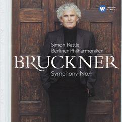 """Sir Simon Rattle: Bruckner: Symphony No. 4 in E-Flat Major, WAB 104, """"Romantic"""" (1886 Version): III. Scherzo (Bewegt) - Trio (Nicht zu schnell, keinesfalls schleppend)"""